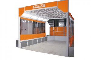 L 9000 Double Fan Primer Cabinet Heavy Commercial Vehicles